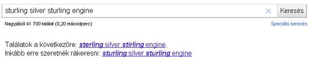 Szövegkörnyezetes kulcsszó felismerés Google keresésnél